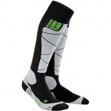 SKARPETY CEP SKI MERINO SOCKS MEN BLACK/GREY ROZMIAR V
